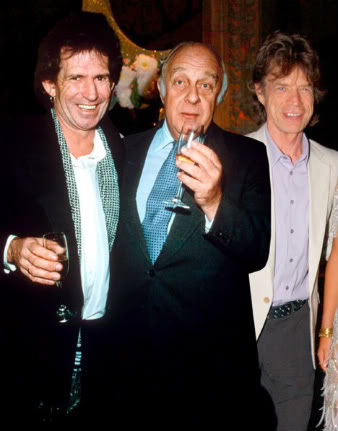 Keith Richards, Prince Rupert Lowenstein and Sir Mick Jagger snicker at Jay-Zs dynasty.