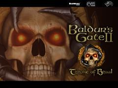 Skull wallpaper from baldur's gate 2