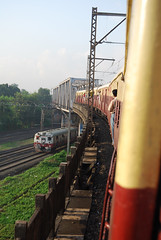 Mumbai Urban Railway in action