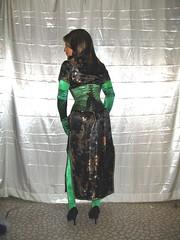 Satin Fetish Fashion Doll (phit2btyd) Tags: fetish mask cosplay masked satin crossdress kinky masking roleplay