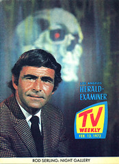 1972 TV Weekly w/ Rod Serling Night Gallery Cover (Neato Coolville) Tags: 1970s 1972 nightgallery rodserling losangelesheraldexaminer tvweekly