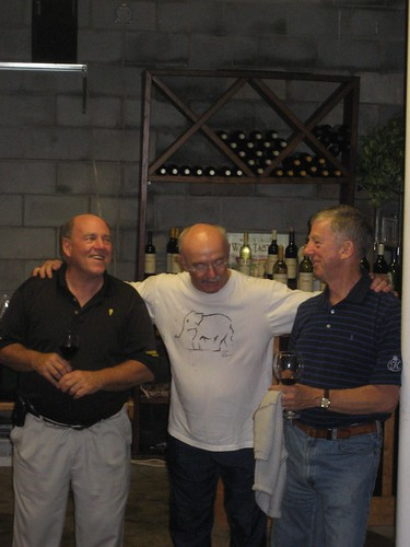 The Ten-to-Go winemakers: Bill, Fred, and Ed