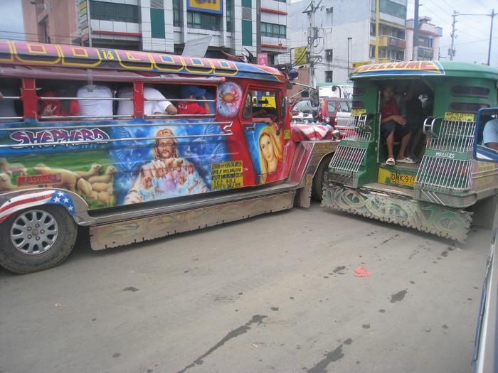 Ortigas Avenue Jeepneys