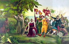First Invasion of The Americas by Christopher Columbus, after Dioscoro Teofilo de la Puebla Tolin (Mike Licht, NotionsCapital.com) Tags: columbus art painting satire mcdonalds christophercolumbus imperialism mcdo americanism discoveryofamerica mikelicht notionscapitalcom dioscoroteofilodelapueblatolin