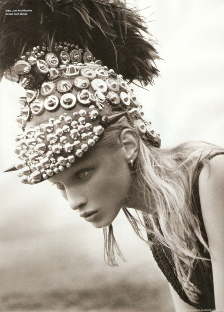 eco-warrior Anna Selezneva styled by Sarah Richardson in i-D