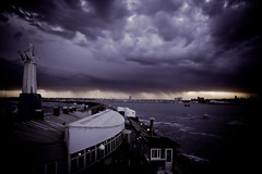 A Perfect Storm ( SandroG) Tags: storm beach rain night lluvia buenosaires playa tormenta garcia da sandro mardelplata sandrog