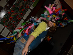 Trinity's bird costume