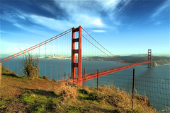 Golden Gate - San Francisco, California, USA (Rich Capture) Tags: sanfrancisco california county trip beautiful landscape marin sonoma lookout goldengatebridge richard guns armybase garisonpoint richardmatyskiewicz matyskiewicz