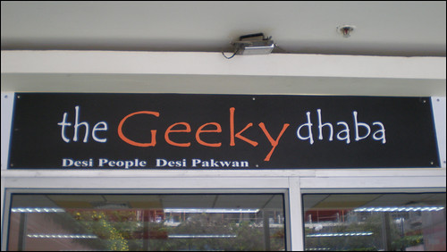 the Geeky dhaba