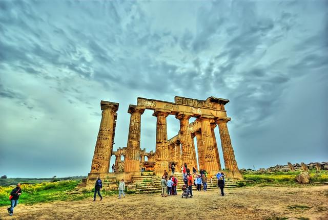 Tempio E - Selinunte