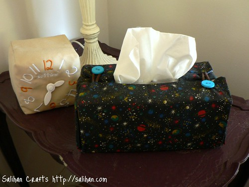 Tissue Box Cover (Bedroom)