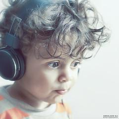 [ Listen 82/356 (A.Aziz Ali) Tags: portrait 3 cute bahrain ali 365 listen canon85mmf18usm canoneos50d abdulazizaliphotography