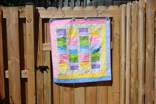A Dozen Quilters - April Project