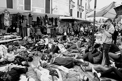 Deat People II (LaKry*) Tags: people blackandwhite death blackwhite gente action persone demonstration morte persons mercato biancoenero flashmob streetmarket manifestazione azione schio noalnucleare againstnuclear