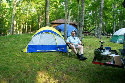 Concert at Grandfather Mountain Campgrounds