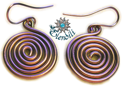 Pendientes espiral by **Elendili**