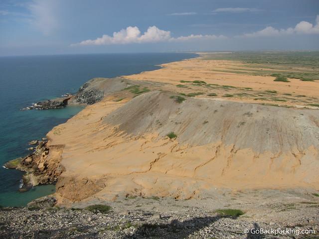 La Guajira coastline