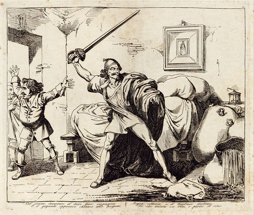 009-Le azione piu celebrate del famoso cavaliere errante Don Chisciotte della Mancia inventate ed incise 1833-1834