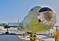 convair b-36j peacemaker (Matt Ottosen) Tags: arizona museum airplane nikon raw tucson space aviation air pima single peacemaker hdr b36 convair d90 pimaairspacemuseum photomatix singleraw upcoming:event=1420165