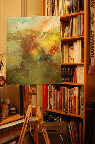 19/1/09 Nebulous on the easel