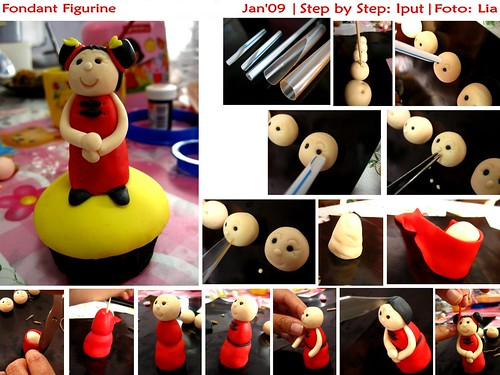 Tutorial] How to Make Fondant figurine , originally uploaded by Ipoet