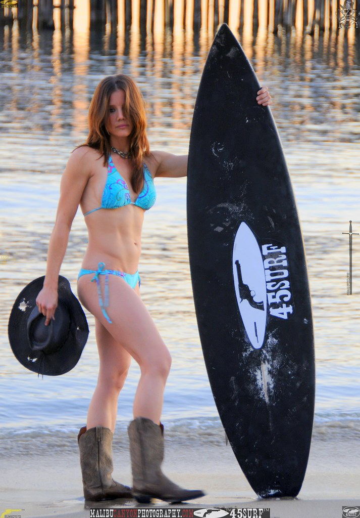 malibu pier 45surf bikini swimsuit model  929..345435