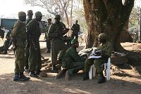 Rangers at Garamba