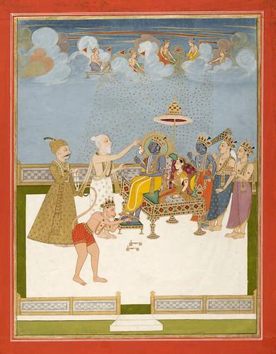 015- Pintura india siglos XVIII- XIX