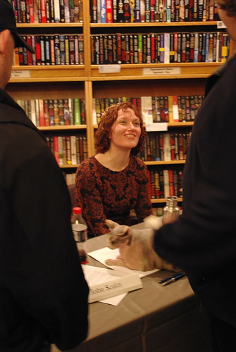 Scalzi and Kowal, January 2009