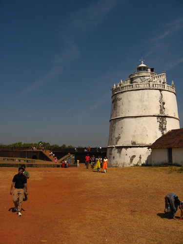 Lighthouse at Fort Aguada