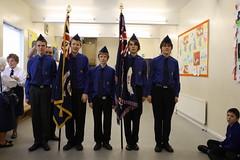 Parade Service Colour Party