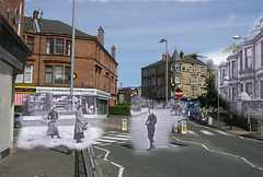 then in now millbrae road (Dave S Campbell) Tags: florida glasgow victorian streetscene mount ghosts southside then now past cathcart