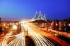 One of New York's 2000 Bridges (Tony Shi Photos) Tags: nyc newyorkcity longexposure traffic queens wardsisland triboroughbridge i278 纽约 astoriablvd triborobr 紐約 桥梁 nikond700 ньюйорк ニューヨークシティ 뉴욕시 rfkbridge thànhphốnewyork न्यूयॉर्कशहर tonyshi robertfkennedybridge مدينةنيويورك rushhourmadness 车河 bronxmanhattan นิวยอร์กซิตี้