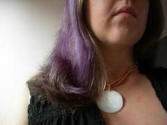04 February 2009 outtake (Alegrya) Tags: violet depression heavyheart necklance alegrya twitter365outtake