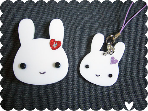Bunny Brooch and Charm/Pendant