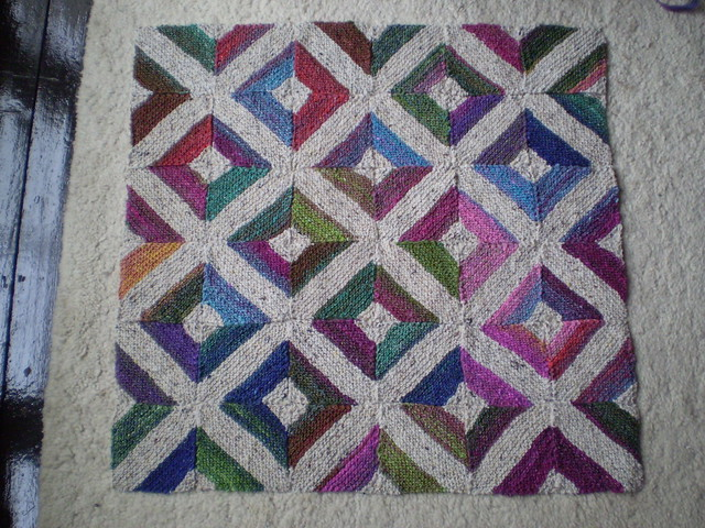 Pathways Blanket by Frankie Brown