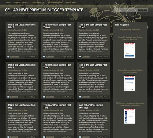 40 Free Beautiful Blogger Templates, Part III ব্লগার ভাইদের জন্য আরও কিছু চমৎকার professional theme