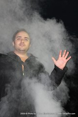FarshadPix in smoke by SaharPix (FarshadPix) Tags: boy portrait black guy me strange face night dark myself persian hand iran smoke flash khodam iranian tehran himself farshad     sigma1770 40d   palideh farshadpix  saharpix