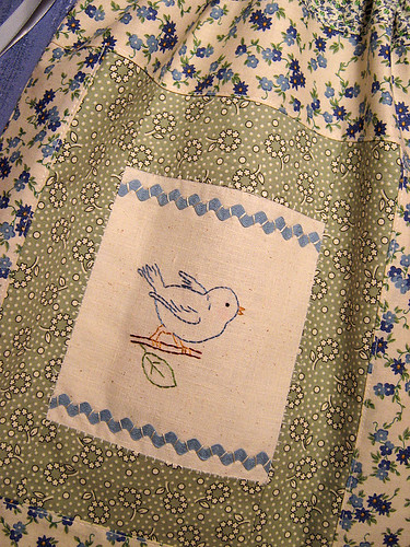 Sweetly Blue Bird Bag