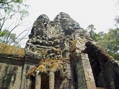 North Gate of Angkor Thom - アンコール・トム 北大門 by Ik T