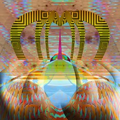 nimbin dream (artyfishal44) Tags: abstract digital outsiderart counter dream culture commune photoshop70 nimbin awardtree