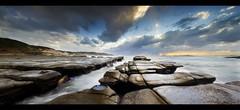 Soldiers (Mark Seabury) Tags: ocean sea lighthouse beach clouds sunrise landscape dawn seascapes australia nsw beaches centralcoast bigwaves rushingwater norahhead soldiersbeach bigseas norahheadlighthouse alemdagqualityonlyclub soldiersbeachheadland pebbblybeach