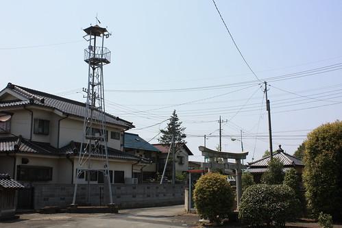 菅間の火の見櫓