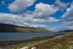 Loch Slapin, Isle of Skye (www.bazpics.com) Tags: trip summer mountain lake holiday skye nature landscape island scotland countryside scenery tour view isleofskye ben scottish august visit highland scot loch isle 2009 slapin harport barryoneilphotography