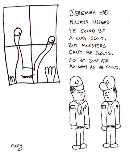 366 Cartoons - 167 - Cub Scouts