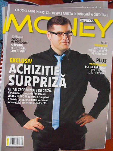 Lucian Despoiu in money express