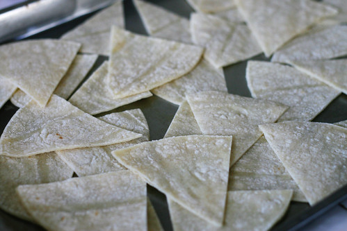 tortilla chip wedges