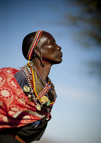 Samburu tribe woman - Kenya