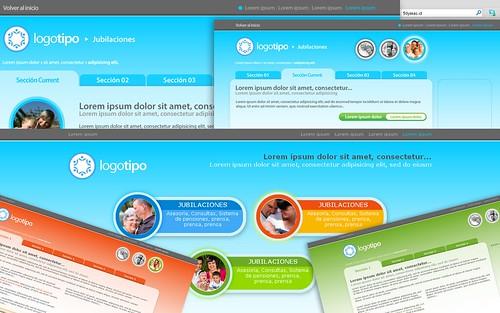 Diseño Web Web Jubilaciones