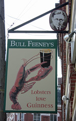 """Lobsters love Guinness"""